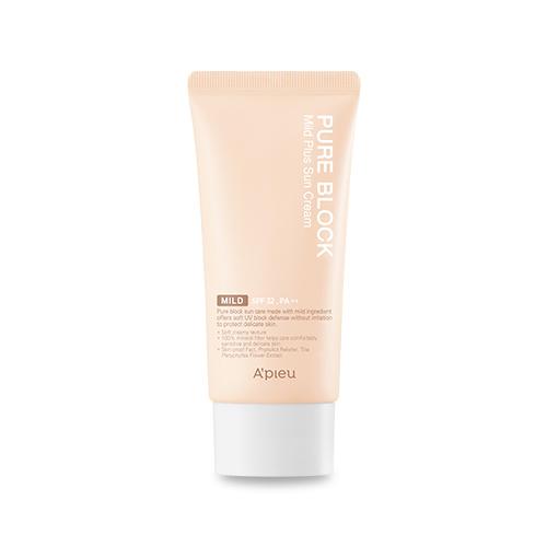 A'PIEU Pure Block Mild Plus Sun Cream SPF32 PA++