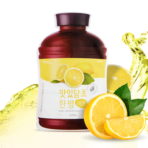 A'PIEU Fruit Vinegar Sheet Mask Lemon