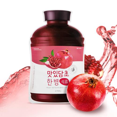 A'PIEU Fruit Vinegar Sheet Mask Pomegranate