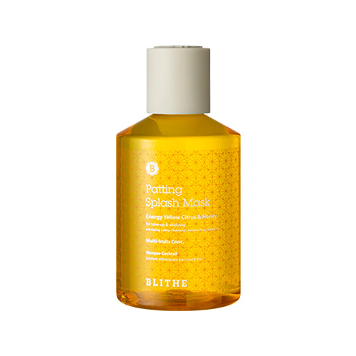 BLITHE Patting Splash Mask Energy Citrus & Honey
