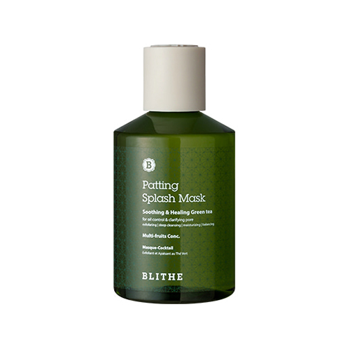 BLITHE Patting Splash Mask Soothing & Healing Green Tea
