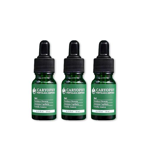 Tinh chất trị mụn 3 trong 1 Caryophy Portucala Ampoule 10ml