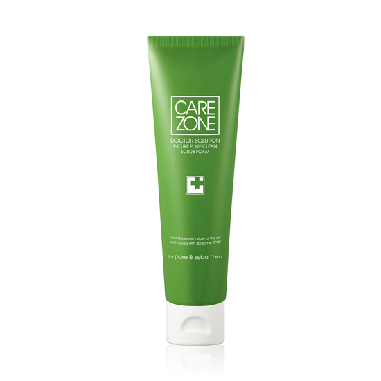 CAREZONE_P-Cure_Pore_Clean_Scrub_Foam_130ml