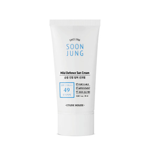 ETUDE HOUSE Soon Jung Mild Defence Sun Cream SPF49 PA++