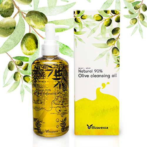 Elizavecca_Natural_90%_Olive_Cleansing_Oil_300ml