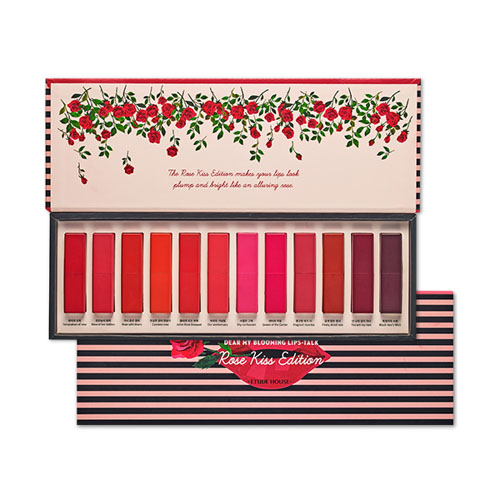 ETUDE HOUSE Blooming Lips Talk Rose Kiss Edition