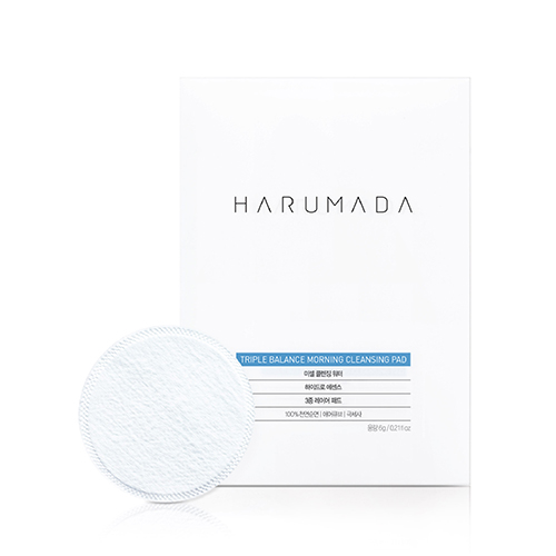 HARUMADA Triple Balance Morning Cleansing Pad