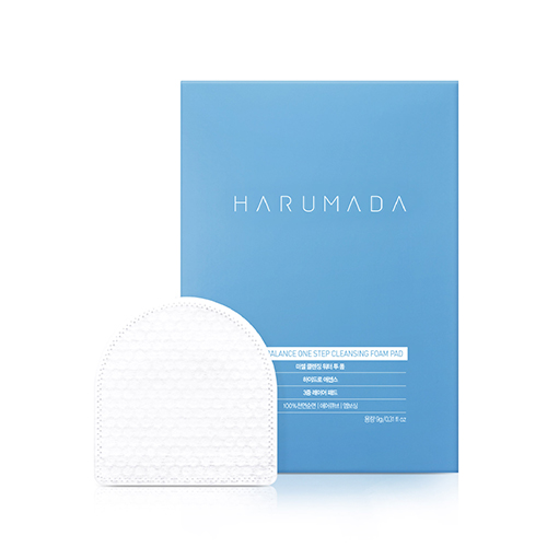 HARUMADA Triple Balance One-Step Cleansing Foam Pad