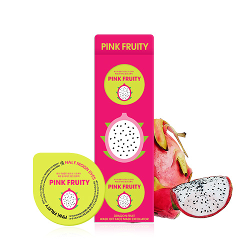HALF MOON EYES Pink Fruity Triple Set