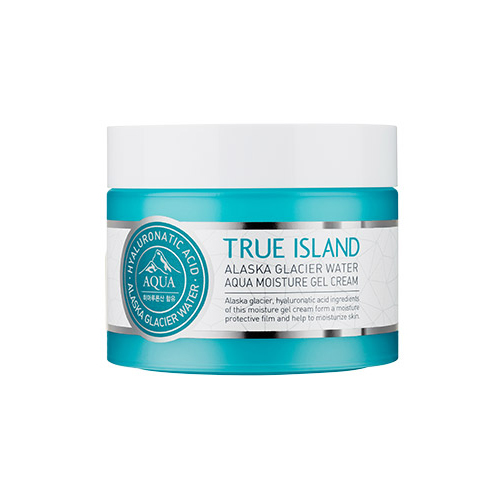 Hope Girl TRUE ISLAND ALASKA GLACIER WATER AQUA MOISTURE GEL CREAM