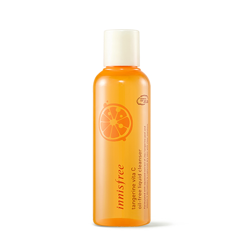 Innisfree_tangerine_vita_C_oil-free_liquid_cleanser_150ml