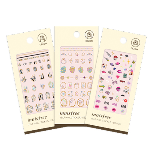 innisfree Self Nail Sticker Design