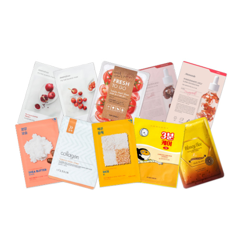 Mask Sheet Trial Kit (Sunny)