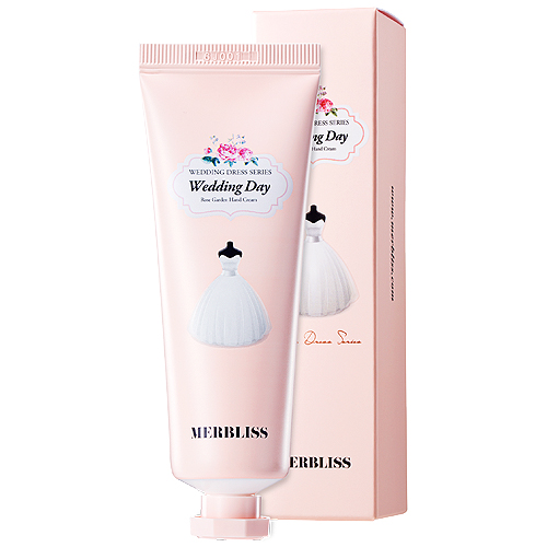 MERBLISS Wedding Day Rose Garden Hand Cream