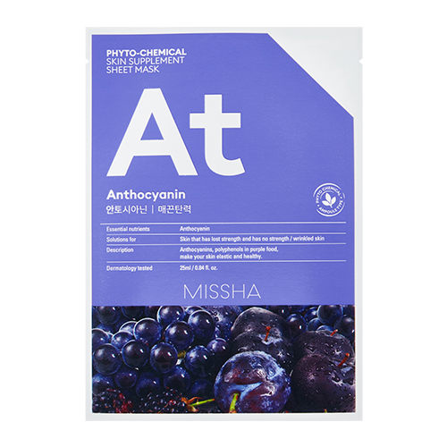 MISSHA Phyto-Chemical Skin Supplement Sheet Mask At