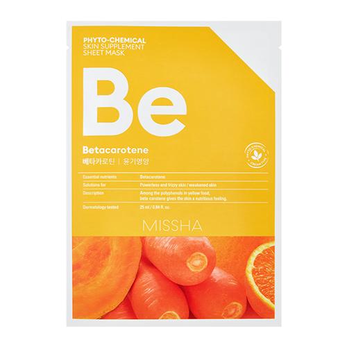 MISSHA Phyto-Chemical Skin Supplement Sheet Mask Be