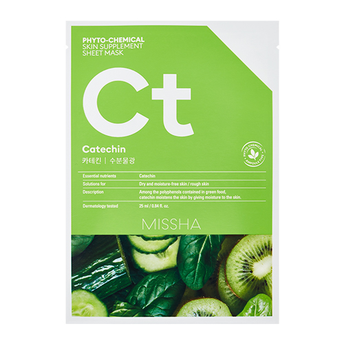 MISSHA Phyto-Chemical Skin Supplement Sheet Mask Ct