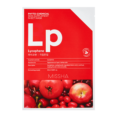 MISSHA Phyto-Chemical Skin Supplement Sheet Mask Lp