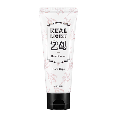 MISSHA Real Moist 24 Hand Cream Rose Hips