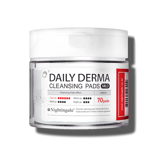 Nightingale Daily Derma Cleansing Pads Mild