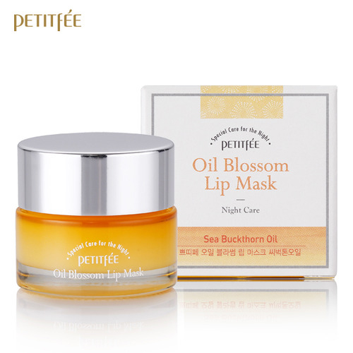 Petitfee_Oil_Blossom_Lip_Mask_Sea_Buckthorn_Oil_15g