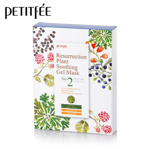 Petitfee_Resurrection_Plant_Soothing_Gel_Mask_10ea