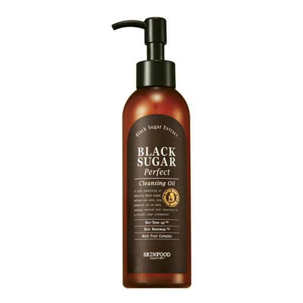 review Skinfood Black Sugar Cleansing Oil   kbeautyaddict