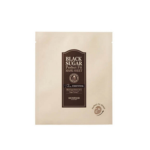 SKINFOOD Black Sugar Perfect Fit Mask Sheet The Essential