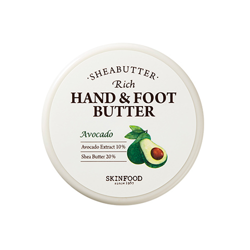 SKINFOOD Shea Butter Rich Hand & Foot Butter Avocado