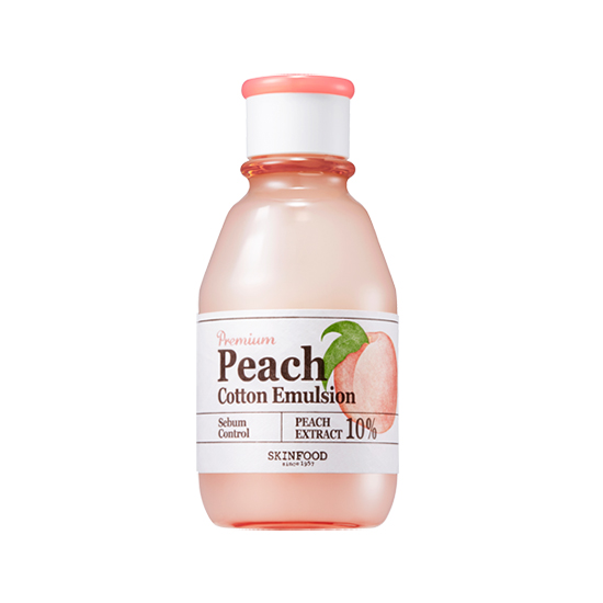 SkinFood_Premium_Peach_Cotton_Emulsion_140ml