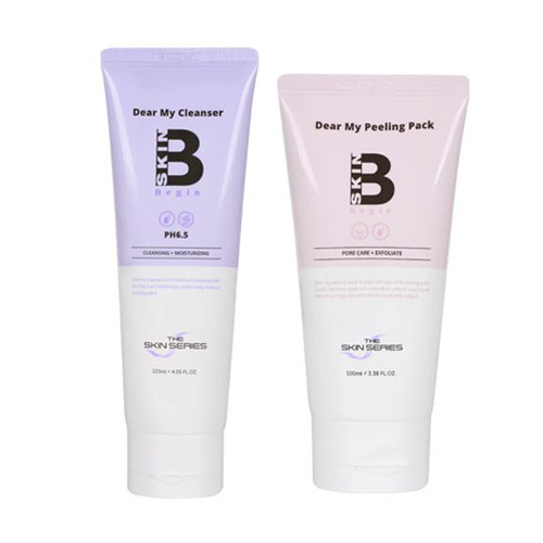 THE SKIN SERIES Dear My Cleanser+My Peeling Pack