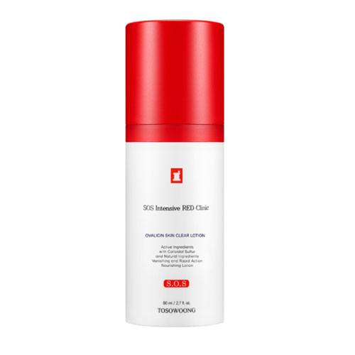 TOSOWOONG SOS Intensive RED Clinic Ovalicin Skin Clear Lotion