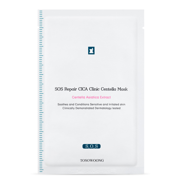 TOSOWOONG_Cica_Clinic_SOS_Repair_Mask_10sheets