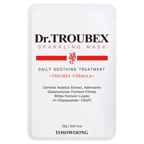 TOSOWOONG_Dr._Troubex_Sparkling_Mask_Pack