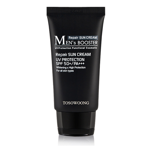 TOSOWOONG_Men's_Booster_Sun_Cream_SPF50+_PA+++_45ml