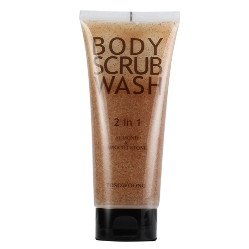 TOSOWOONG_Perfume_Almond_Body_Scrub_Wash_160g