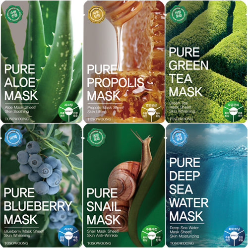 TOSOWOONG_Pure_Snail_Mask_Pack_10pcs_in_a_box