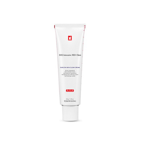 TOSOWOONG SOS Intensive RED Clinic Ovalicin Skin Clear Cream