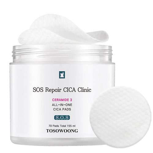 TOSOWOONG SOS Repair CICA Clinic All-In-One Cica Pads