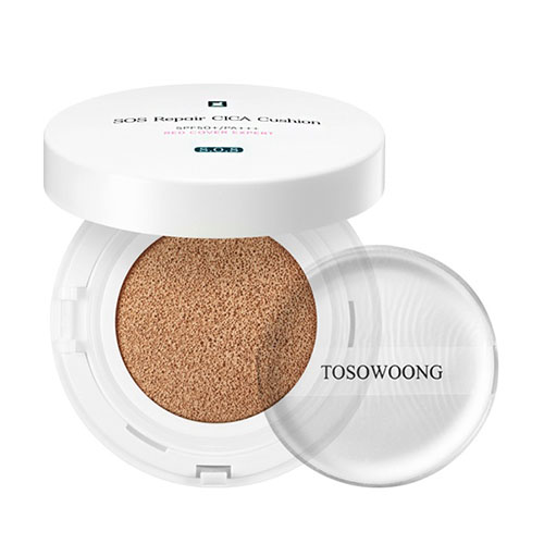 TOSOWOONG SOS Repair CICA Cushion Red Cover Expert SPF50+ PA+++