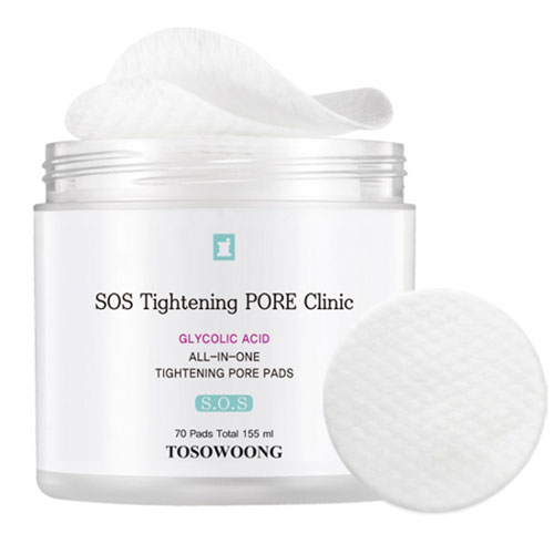 TOSOWOONG SOS TIghtening PORE Clinic All-In-One Tightening Pore Pads