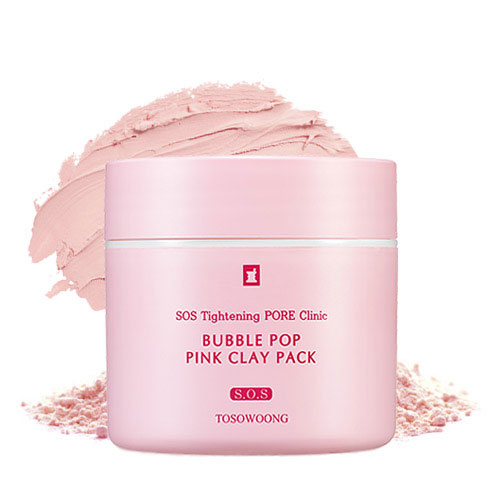 TOSOWOONG SOS Tightening PORE Clinic Bubble Pop Pink Clay Pack