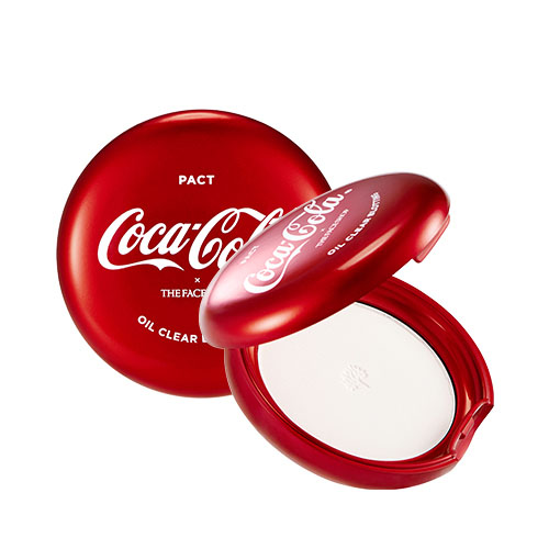 The Face Shop Coca-Cola Oil Clear Blotting Pact