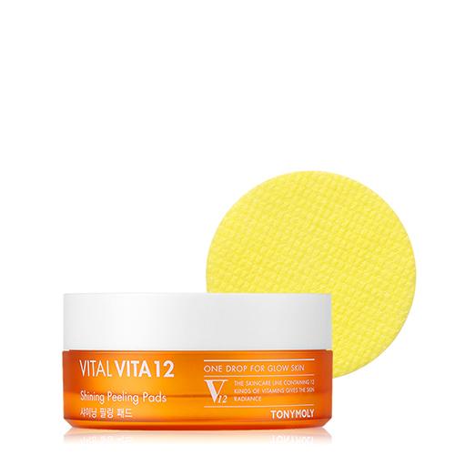 TONYMOLY Vital Vita 12 Shining Peeling Pads