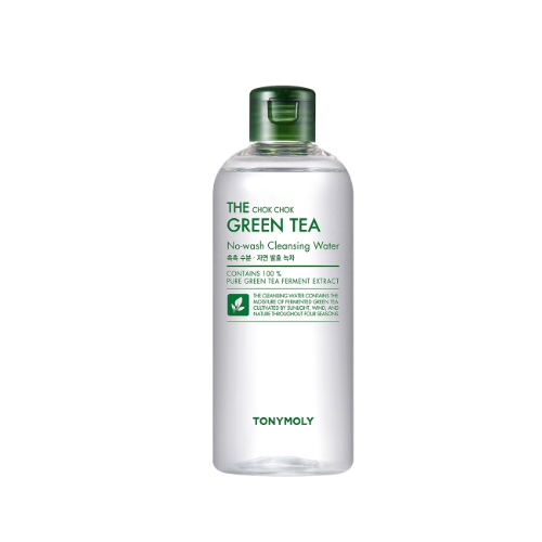 TONYMOLY The Chok Chok Green Tea No-Wash Cleansing Water