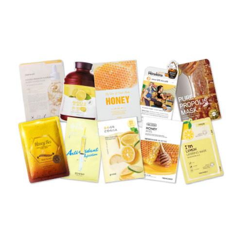 Mask Sheet Trial Kit (Yellow)