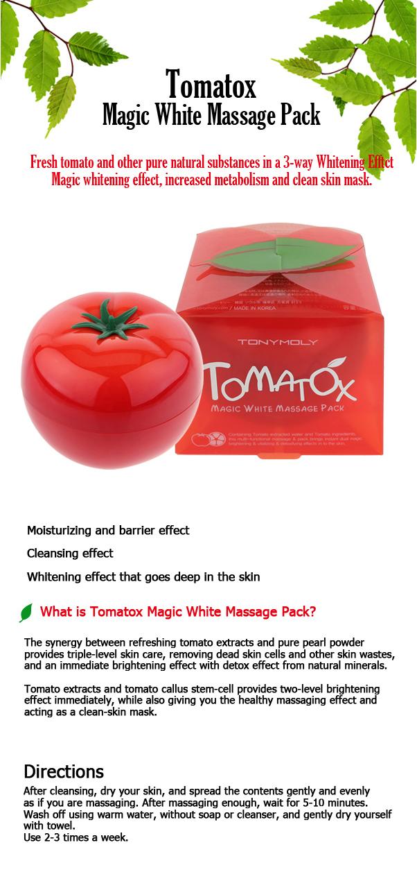 Image result for tony moly tomatox magic massage