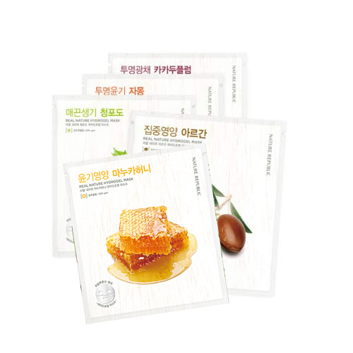 Nature Republic Real Nature Hydrogel Mask