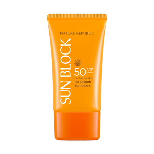 Nature Republic California Aloe No Sebum Sun Block SPF50+ PA++++