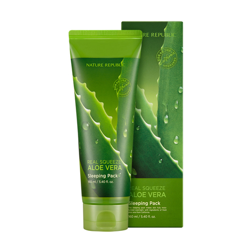 Nature_Republic_Real_Squeeze_Aloe_Vera_Sleeping_pack_160ml
